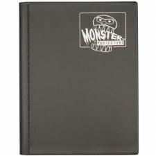 Folio Black Matte 4-Pocket Side-loader Binder
