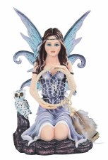 Star Fairy with Owl & Dream Catcher