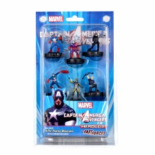 HCX Cap America & Avengers Fast Forces (6 fgures)