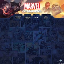 PM Marvel Champions 4-Player Game Mat