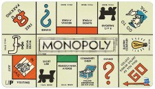 PM Monopoly Game Board Play Mat