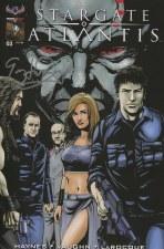 Stargate Atlantis Back To Pegasus #1 Signed 5 Book Fan Set