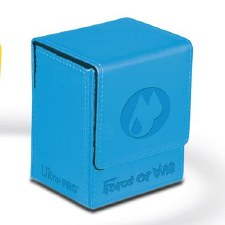 DB FoW Water Blue Premium Fliip Box