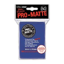 DP Blue Matte Standard (50) Sleeves