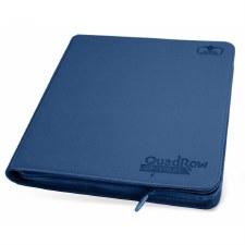 Folio Blue, Dk Quadrow ZipFolio XenoSkin (480) Binder