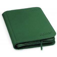 Folio Green 4-Pkt ZipFolio Sidde-loading Playset Binder