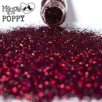 Magpie Glitter  Poppy 10 g