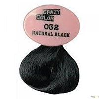 Crazy Colour Natural Black 032