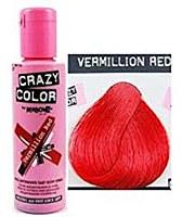 Crazy Colour Vermillion Red 40