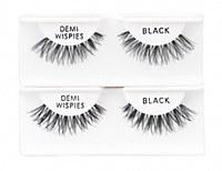 Demi Wispies Black 6pk Strip