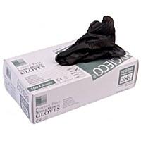 Nitrile Gloves Black SMALL