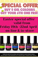 Magpie Gel Polish 6 For 5