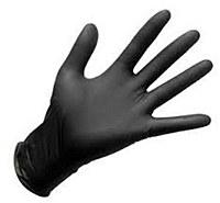 Nitrile Gloves LARGE Black