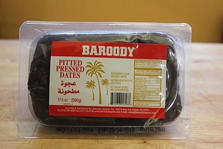 Baroody Pressed Dates 500g
