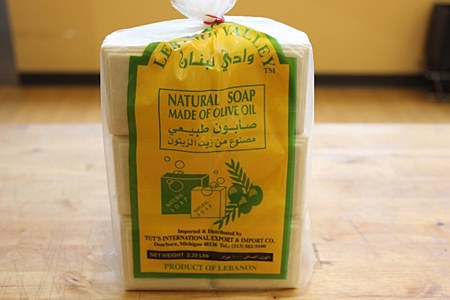 Lebanon Valley White Soap