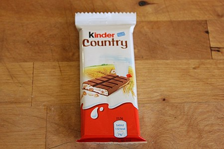 Kinder Country Cereal Bar 24g