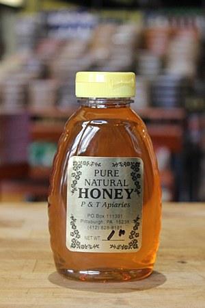 P & T Apiaries Honey 1 Lb