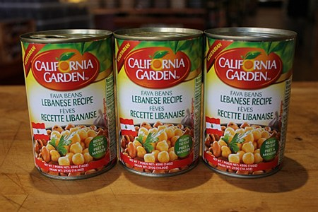 California Garden Lebanese Recipe Fava Beans 16oz