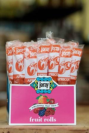 Joray Apricot Fruit Roll 28g