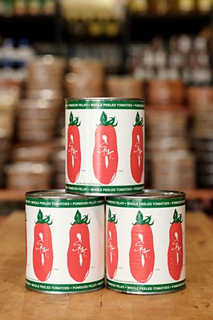 San Marzano Whole Peeled Tomatoes 28oz