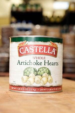 Castella Artichoke Hearts 5lbs