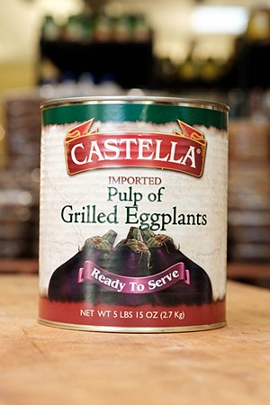 Castella Eggplant Pulp 5lbs