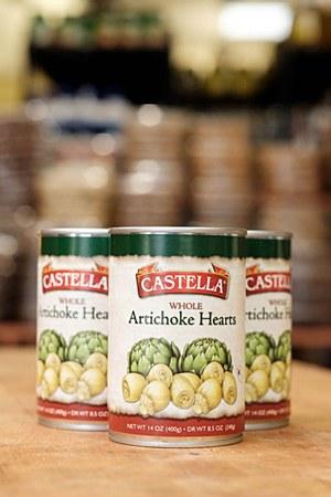 Castella Artichoke Hearts 14oz