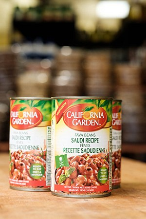 California Garden Saudi Recipe Fava Beans 16oz
