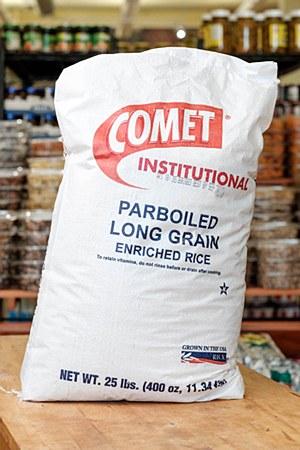 Comet Parboiled Rice 25lbs