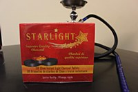 Starlight Charcoal 100 - 33mm Tablets