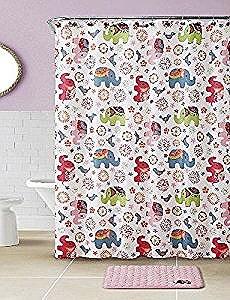 15 Piece Elephant Bath-In-Bag Set, Pink