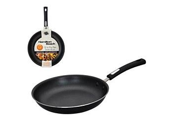"Hamilton Beach 12"" Aluminum Fry Pan Non Stick Black HAA103"