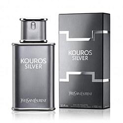 Guerlain Kouros Silver Eau de Toilette Spray, 3.3 Ounce