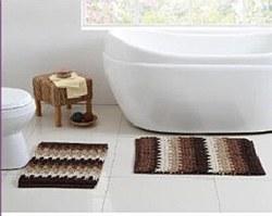 """Cavett 100% Cotton Tweed Bath Rug 20""""X32"""" - Teal"""