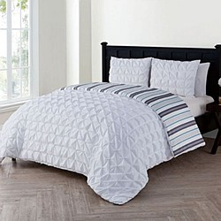 Brielle 3 Piece Duvet Cover Set - King Size