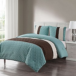 VCNY Edgemont Embossed Comforter Set - Full/Queen
