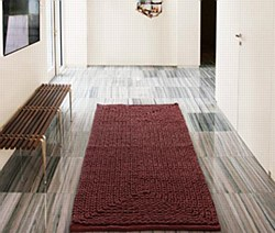 """Barron Poly/Cotton Chenille Rug 20""""x30"""" Red by VCNY"""