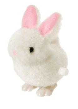 Fuzzy Bunny Wind-Up Toy