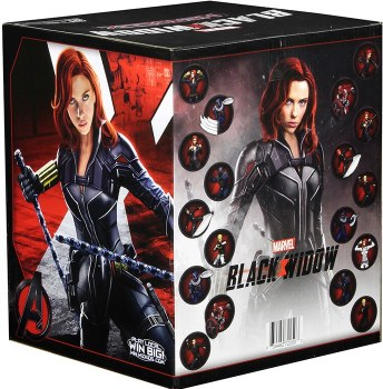 Heroclix Black Widow Movie Gravity Feed Display PreSale