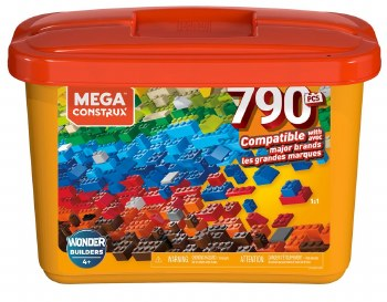 Mega Construx: 790 Piece Tub