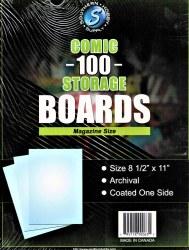 100 Comic Boards Magazine Size
