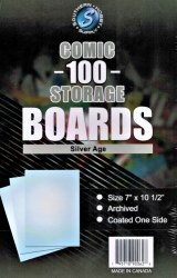 100 Comic Boards Silver Age