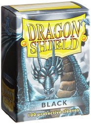 Dragon Shield: 100 Black Sleeves