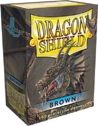 Dragon Shield: 100 Brown Sleeves
