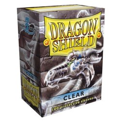 Dragon Shield: 100 Clear Sleeves