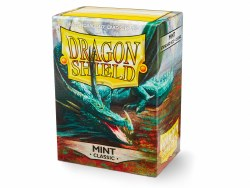 Dragon Shield: 100 Classic Mint Sleeves