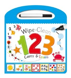 123 Wipe-Clean Board Book