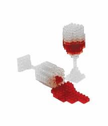 3D Pixel Puzzles - Wine