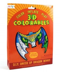 3D Colorables - Dress-Up Dragon WIngs