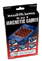 6 in 1 Magnetic Games